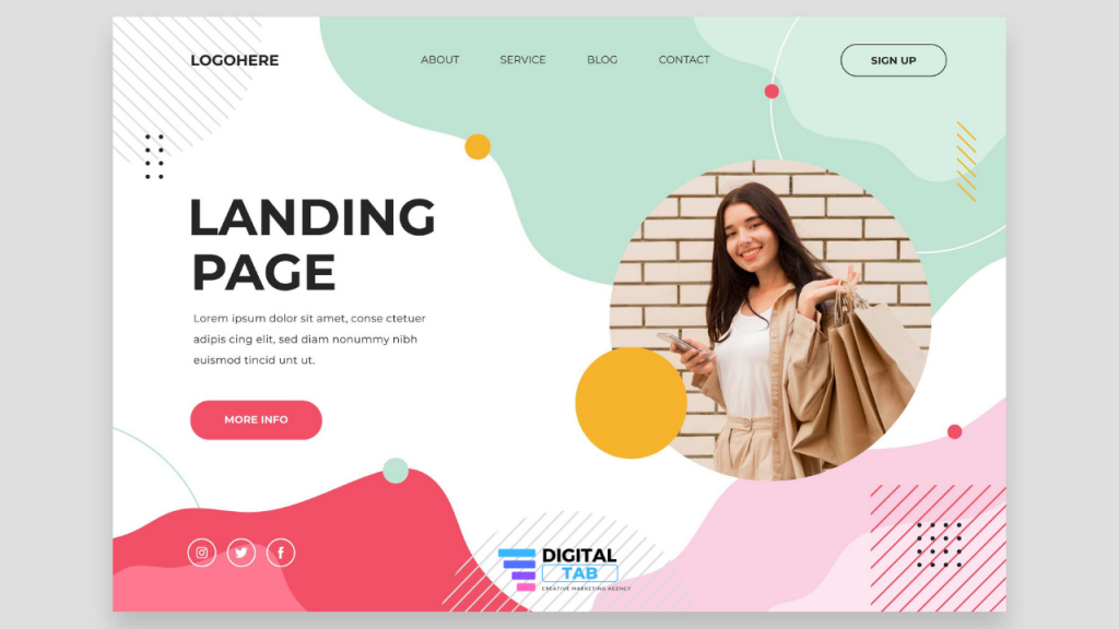 Improve the landing page of your website